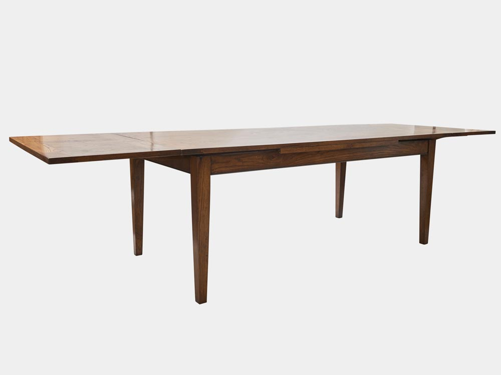 French Accent French Country Provence extendable Dining Table in oak 200cm extended