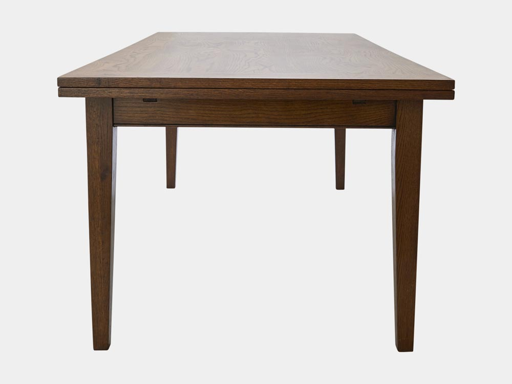 French Accent French Country Provence extendable Dining Table in oak 200cm side