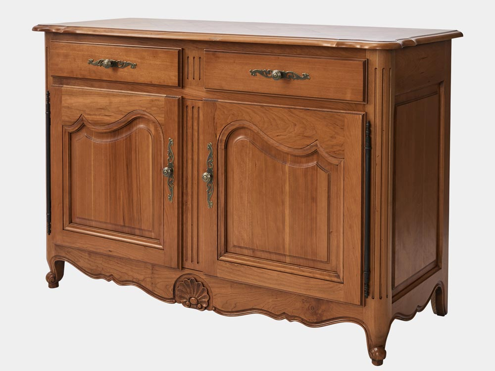French Provincial Louis Xv Style Buffet Or Sideboard In