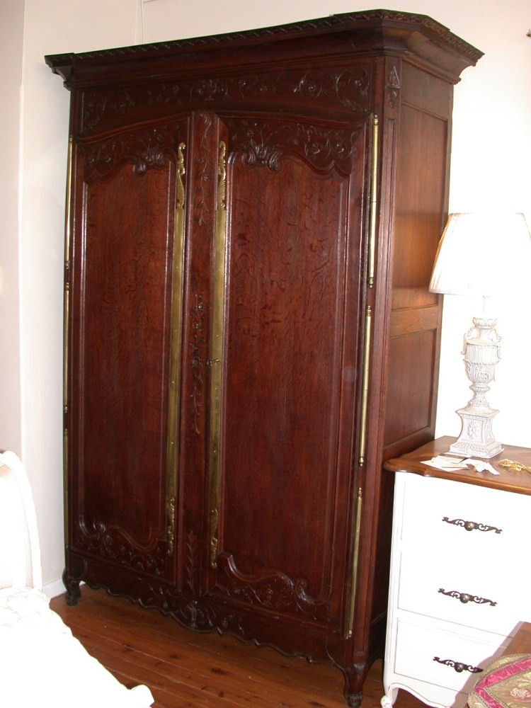 antique-french-provincial-normandy-style-armoire-oak-side