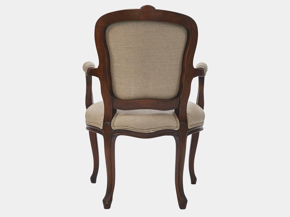 Louis Xv Style Armchair French Accent