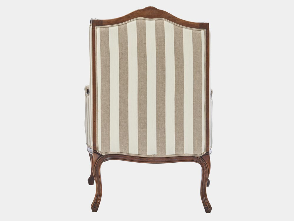 Louis XV Style Wingback Armchair