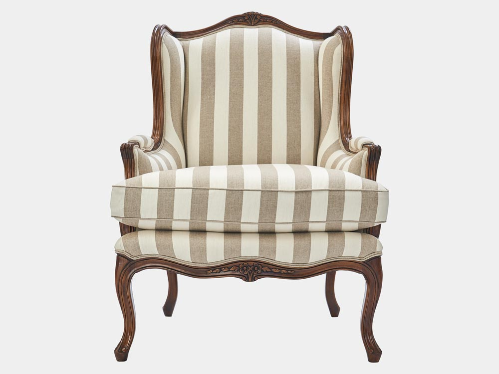 Very Louis XV style wingback armchair – French Accent AB92