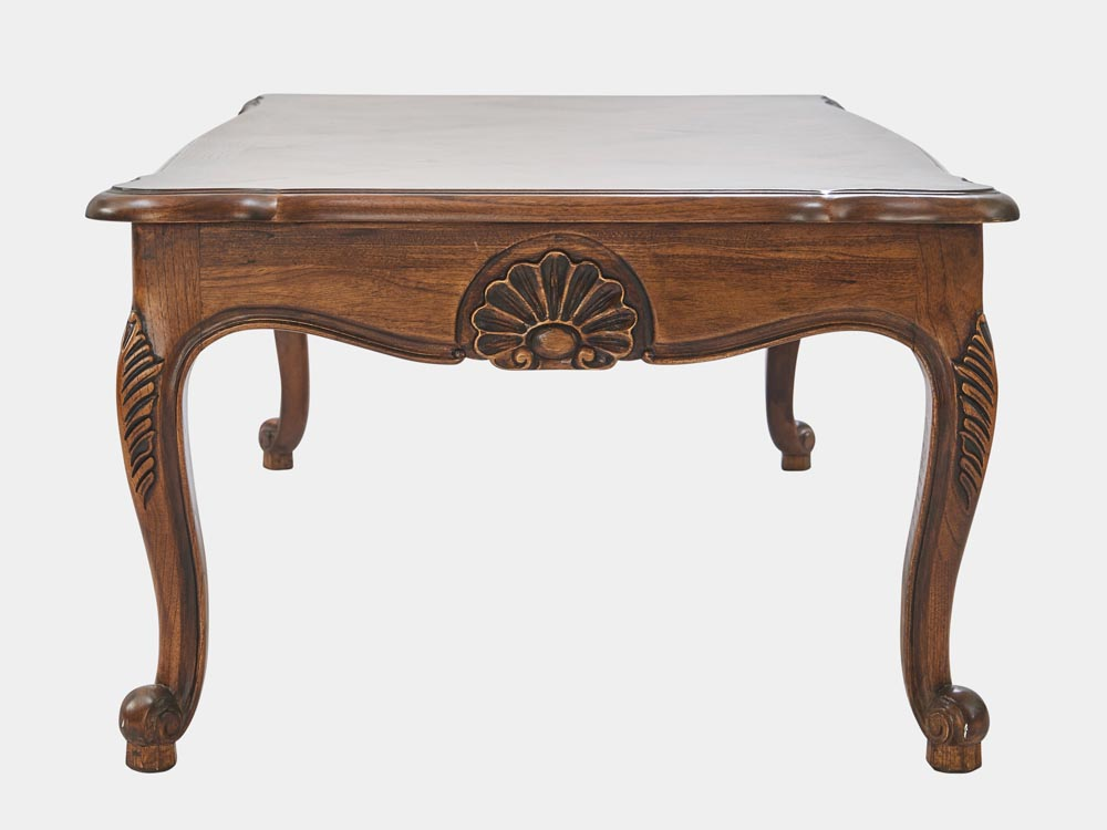 Louis xv style coffee table french accent - Table louis xv ...