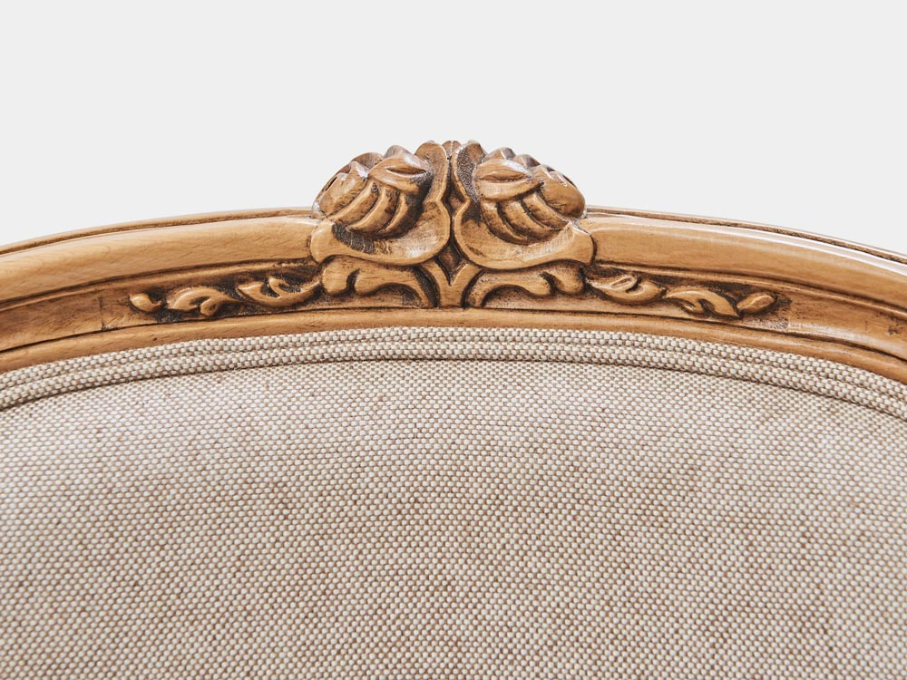 Louis Xv Style Dining Chair French Accent