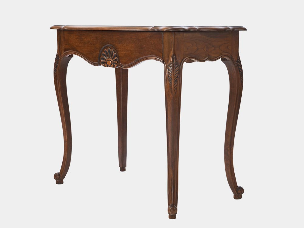 Louis xv style hall table french accent - Table de chevet louis xv ...