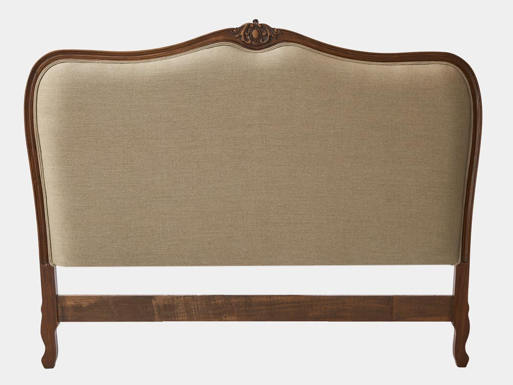 Louis Xv Style Bed Head French Accent