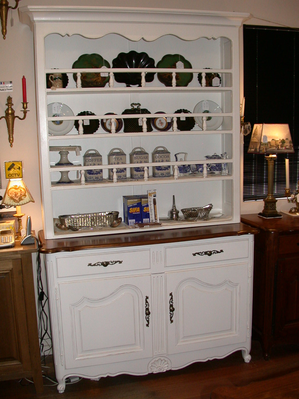 Wondrous French Country Louis Xv Style Buffet Hutch French Country Interior Design Ideas Clesiryabchikinfo